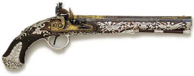ornate flintlock